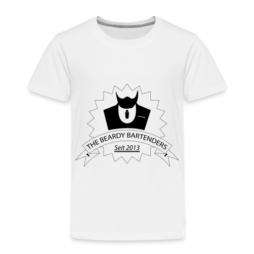 Beardy Bartenders - Kinder Premium T-Shirt
