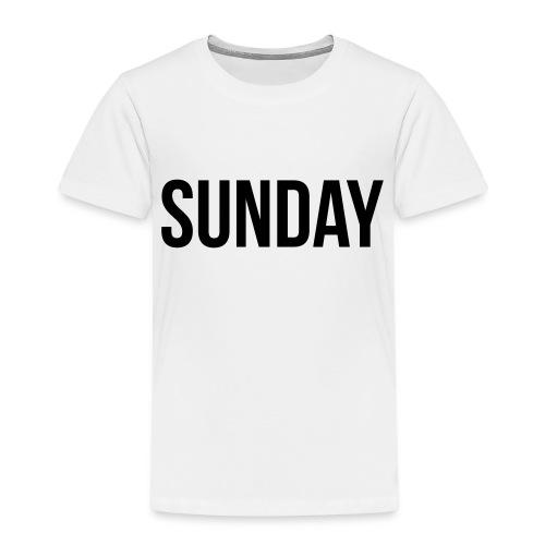 Sunday - Lasten premium t-paita