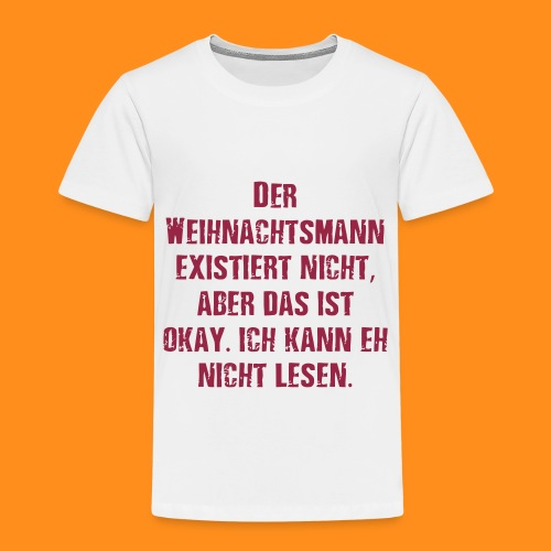 weihnachtsamann - Kinder Premium T-Shirt