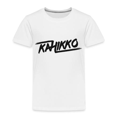 Kahikko Black - Lasten premium t-paita
