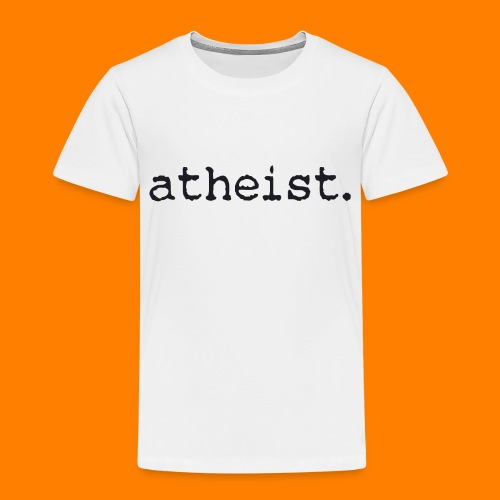 atheist BLACK - Kids' Premium T-Shirt