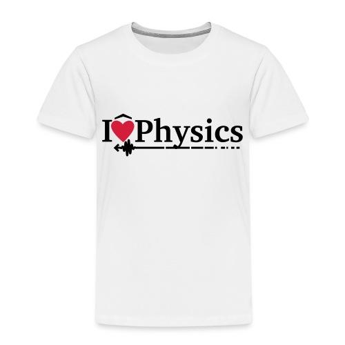 I heart physics - Kids' Premium T-Shirt