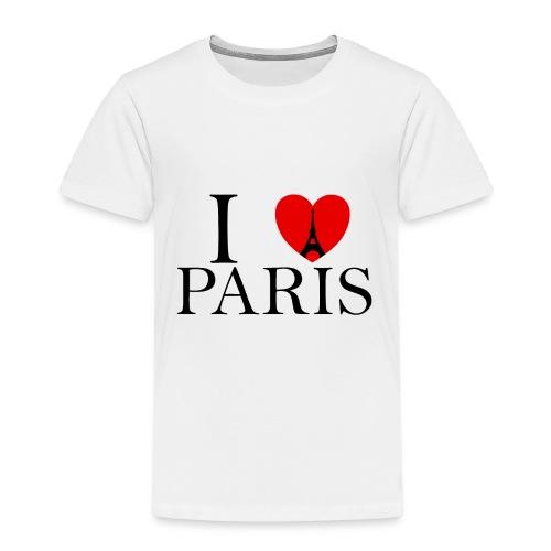 I LOVE PARIS - Kinder Premium T-Shirt
