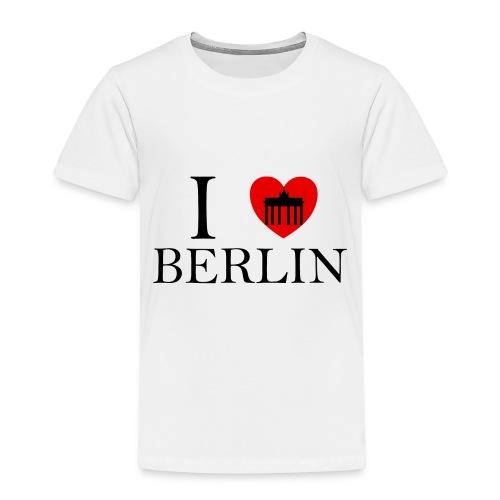 I LOVE BERLIN - Kinder Premium T-Shirt