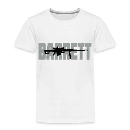 Barrett M82 Hard Target Interdiction :) - 2 colori - Maglietta Premium per bambini