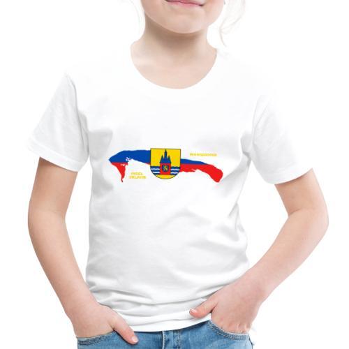 Wangerooge Insel Nordsee Urlaub - Kinder Premium T-Shirt
