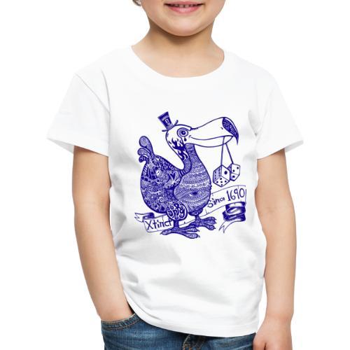dodofinalblau - Kinder Premium T-Shirt
