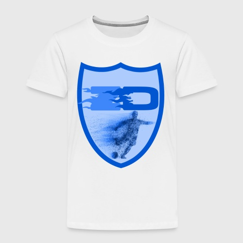 J R Footballers Shield Logo - Kids' Premium T-Shirt
