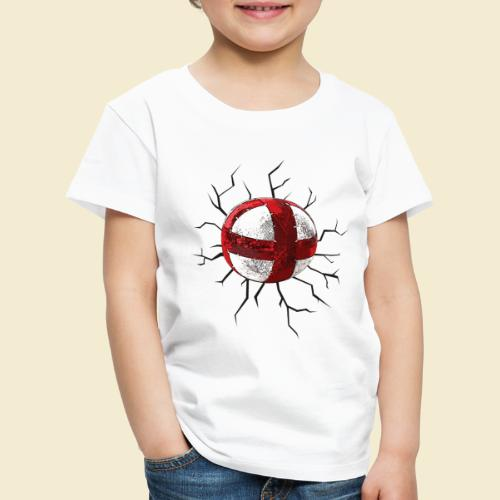Radball | Cycle Ball Crash - Kinder Premium T-Shirt