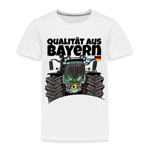 Qualitaet aus Bayern F def - Kinderen Premium T-shirt