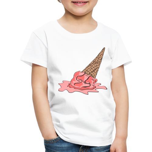 Dropped Ice Cream - Kids' Premium T-Shirt
