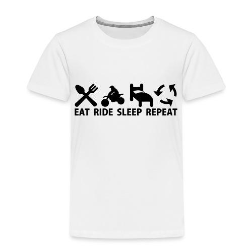 Motocross (MX) - Premium-T-shirt barn
