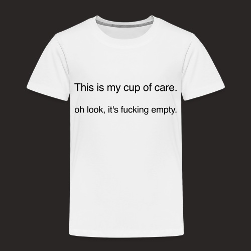 cup of care - Kinder Premium T-Shirt