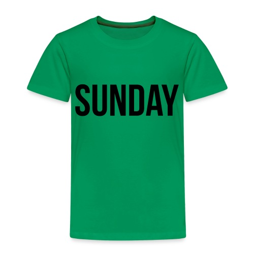 Sunday - Kids' Premium T-Shirt