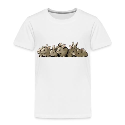 Lapins gris - T-shirt Premium Enfant
