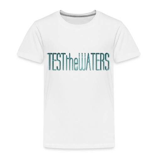 TESTtheWATERS BETA BLUE - Kids' Premium T-Shirt