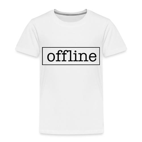Officially offline - Kinderen Premium T-shirt