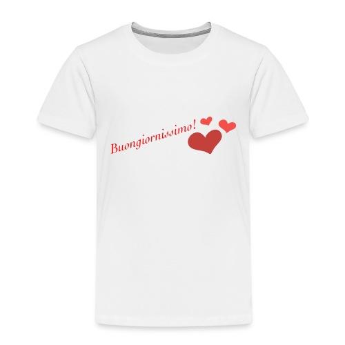 Buongiornissimo! - Maglietta Premium per bambini