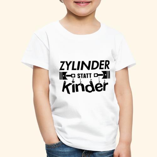 Zylinder Statt Kinder - Kinder Premium T-Shirt