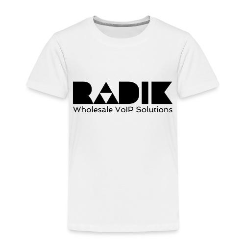 radik logo 1kleur wholesalevoipsolutions - Kinderen Premium T-shirt