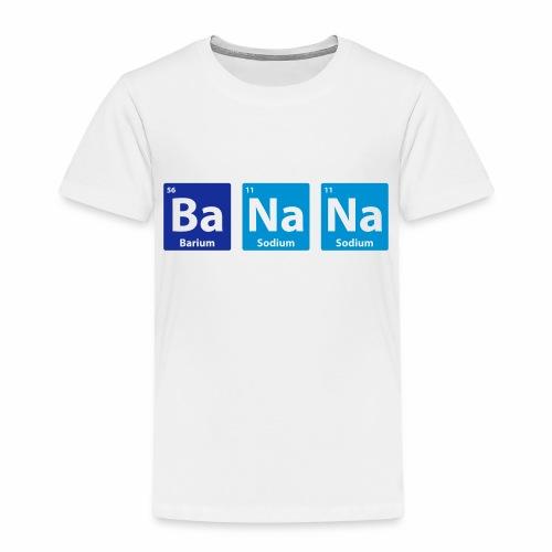 Periodic Table: BaNaNa - Kids' Premium T-Shirt