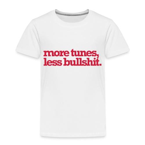 moretuneslessbullshit - Kinderen Premium T-shirt