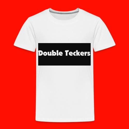 double teckers white top - Kids' Premium T-Shirt