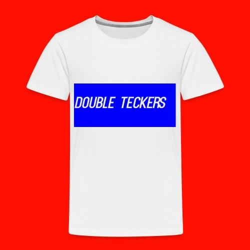 Double Teckers Black top - Kids' Premium T-Shirt