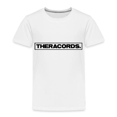 Theracords_logo_black_TP - Kinderen Premium T-shirt