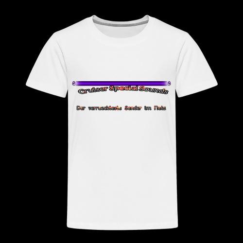 cssder - Kinder Premium T-Shirt