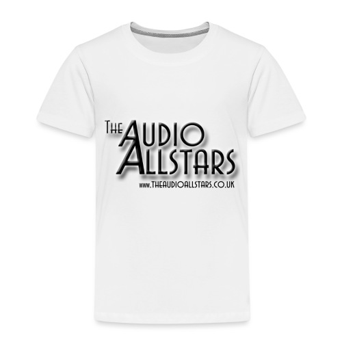 The Audio Allstars logo - Kids' Premium T-Shirt