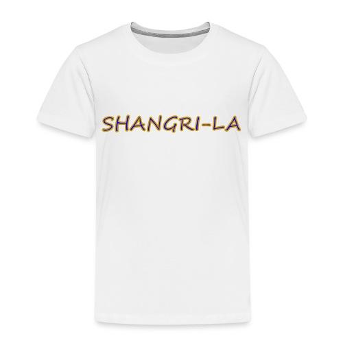 Shangri La goldblau - Kinder Premium T-Shirt