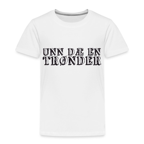 unndae - Premium T-skjorte for barn