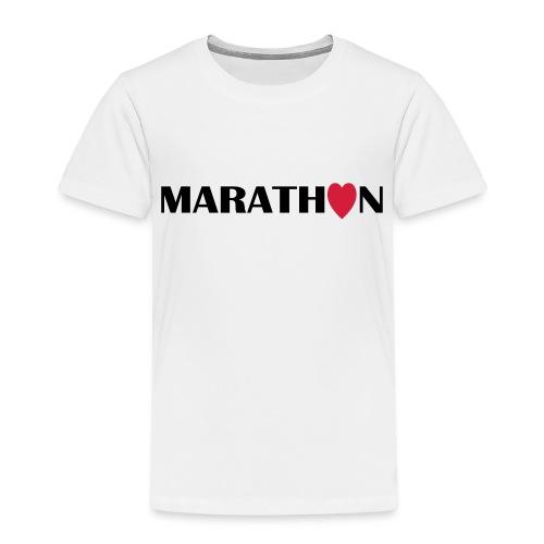 I love Marathon - Kinder Premium T-Shirt