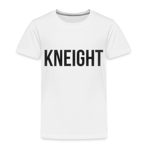 Brand KNEIGHT Logo - Børne premium T-shirt