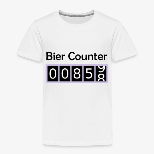 Biercounter / Bierzähler deutsch - Kinder Premium T-Shirt