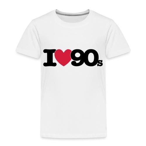 I love 90s - Kinder Premium T-Shirt