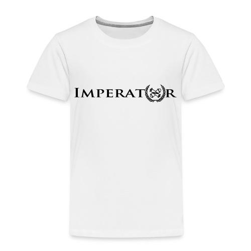 logo vektor lang schwarz - Kinder Premium T-Shirt