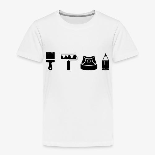 Graffiti Icons Full - Kinder Premium T-Shirt