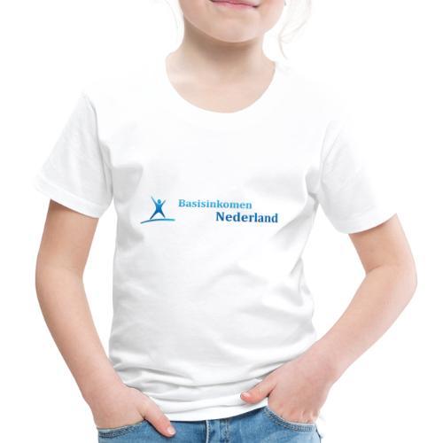 Logo Basisinkomen Nederland 2 - Kinderen Premium T-shirt