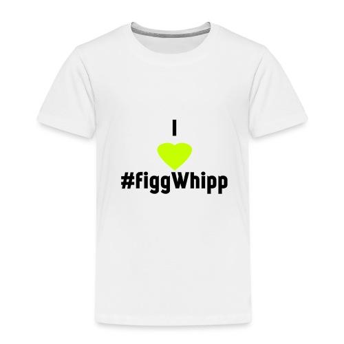 I heart figgwhipp black - Premium-T-shirt barn