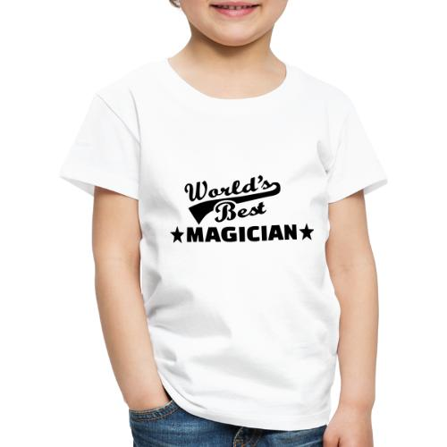 Worlds Best Magician - Kids' Premium T-Shirt