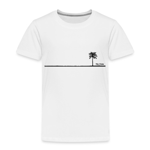 Palm dubai beach black and white - Maglietta Premium per bambini