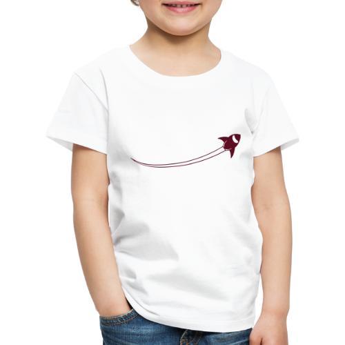 airman logo spaceplane - Kinder Premium T-Shirt