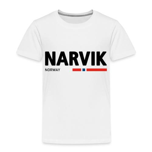 Narvik, Norway (fra Det norske plagg) - Premium T-skjorte for barn