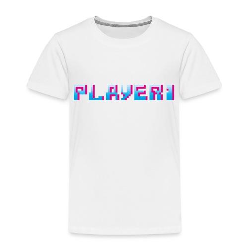 Arcade Game - Player 1 - Kids' Premium T-Shirt