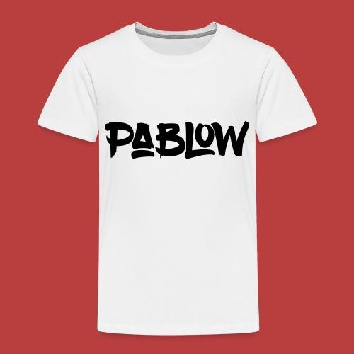Pablow Logo - Kinderen Premium T-shirt
