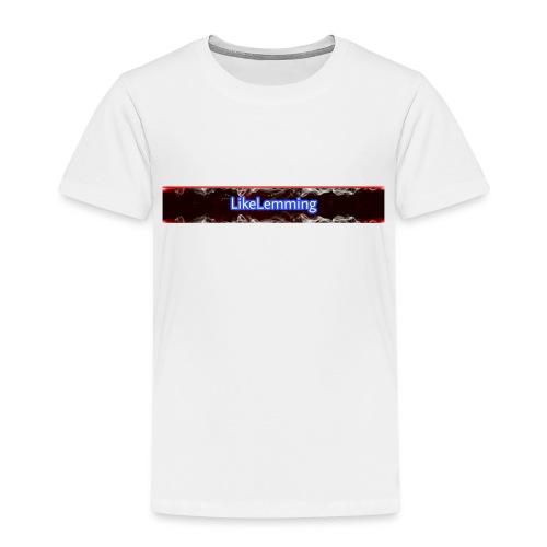 LikeLemming Banner - Kinder Premium T-Shirt