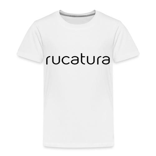 RUCATURA TIPOGRAFÍA - Camiseta premium niño