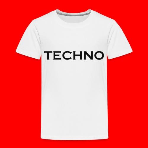 Parts of Life Techno Black - Kinder Premium T-Shirt